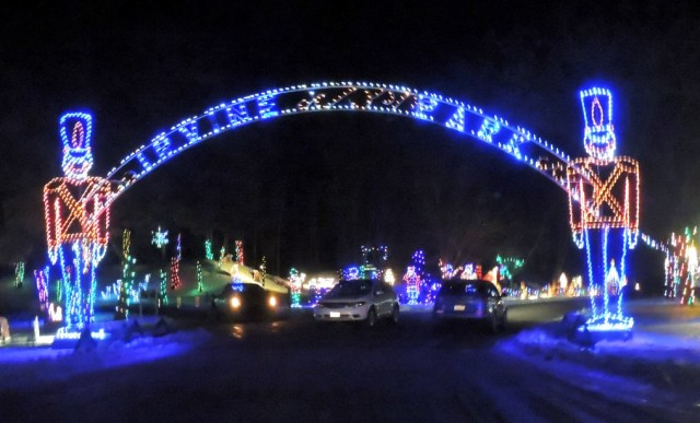 Christmas in Irvine Park - Chippewa Falls, Wisconsin