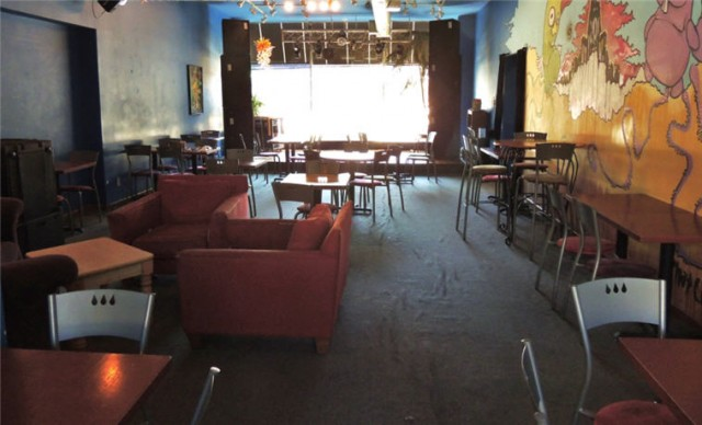 Seating and Performance Area, Electric Earth Cafe