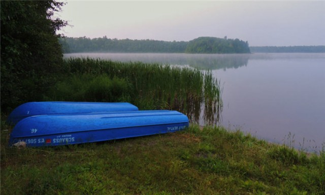 My Wisconsin Space 187 Little John Lake At Dawn Northern