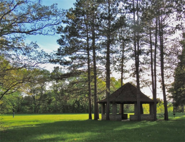 Shelter and Playfield, Merrick State Park