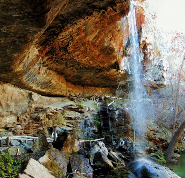 Waterfall, Hamilton Pool