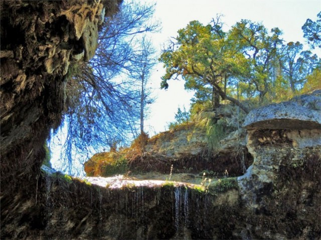 Top of Waterfall, Hamilton Pool