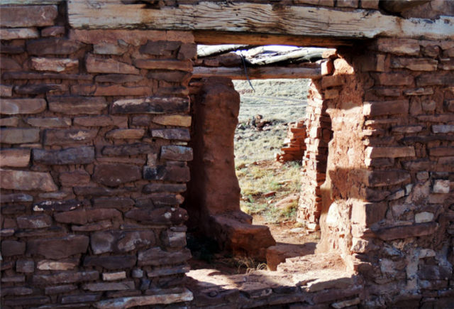 Doorways, Abo Pueblo