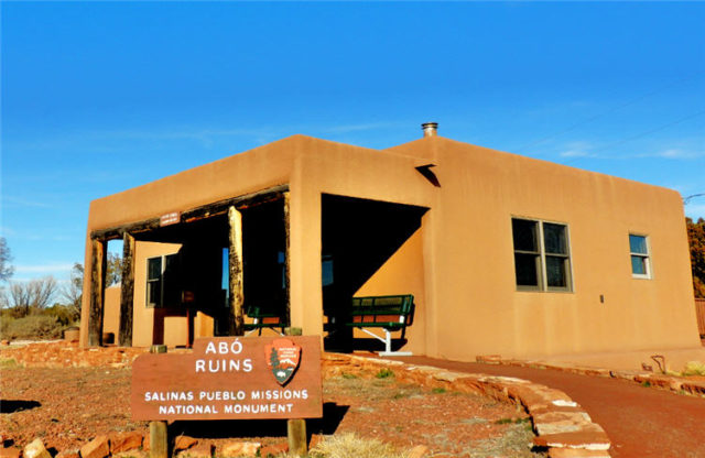 Visitor Center, Abo Pueblo