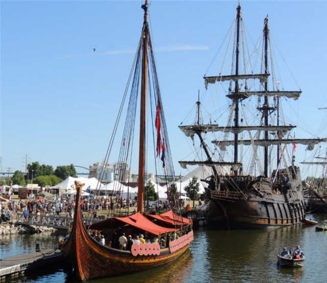 Two Tall Ships, Tall Ships