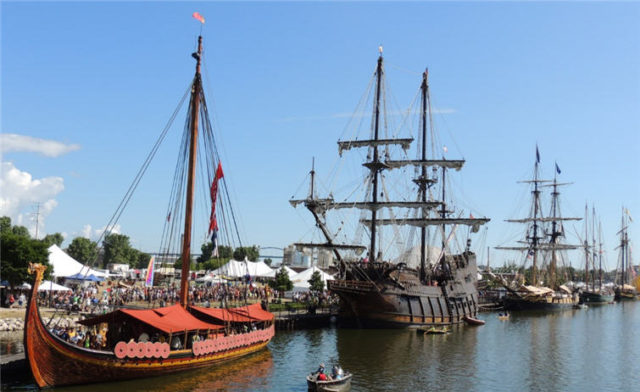 Line of Ships, Tall Ships