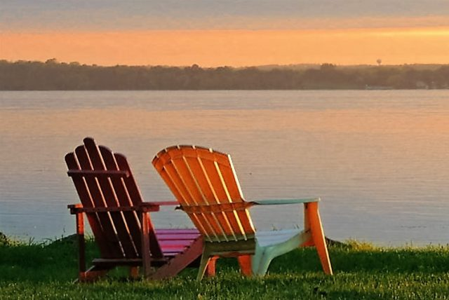Chairs, lake-monona