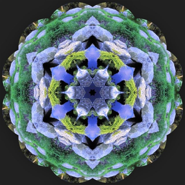 Garden Kaleidoscope At Olbrich >> My Wisconsin Space Kaleidoscope Image Of Pool Olbrich Botanical